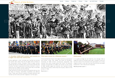 March of the Archers Website